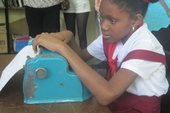 Braille machines have been donated to schools in each of Cuba's 15 provinces