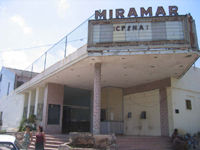 Exterior of Miramar Theatre in 2006. New exterior will be revealed at the end of march 2012!