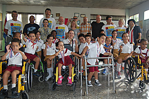 Solidarity With Panama School For Children With Physical